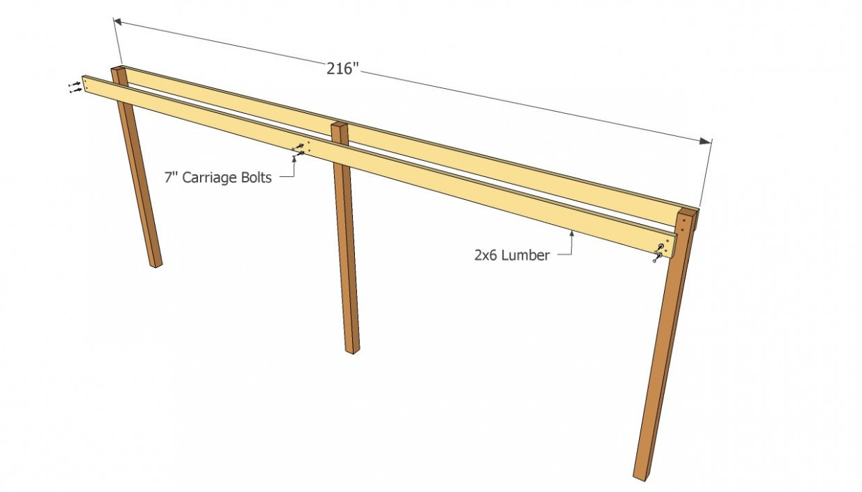 Attached Carport Plans   Free Outdoor Plans DIY Shed ..