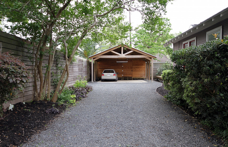 Attached Carport Plans Garage And Shed Traditional With ..