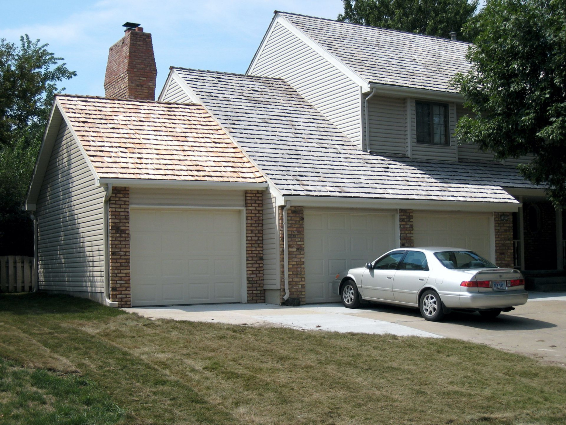 Attached Garages | The Garage Company Attached Carport Garage