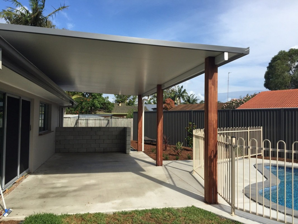 Attached Insulated Flat Roof Verandah , Patio, Carport ..