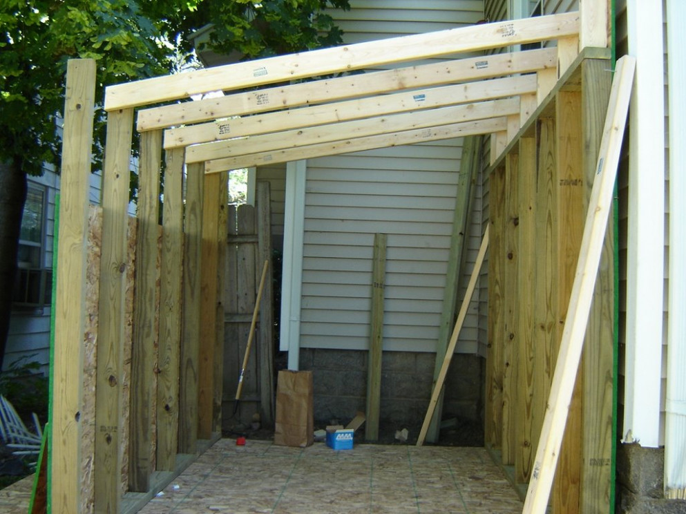 Attaching Shed Roof To Side Of House | MyCoffeepot