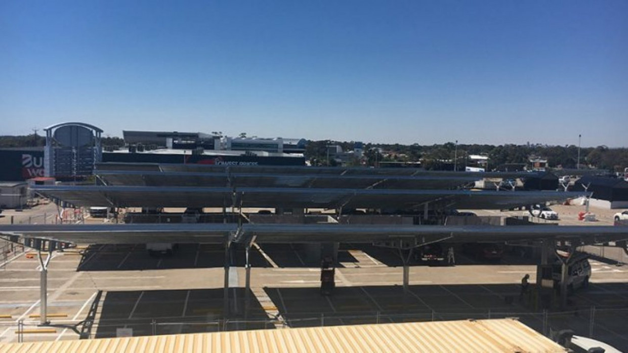 Australia's Largest Solar Car Park Canopy Project Nears ..