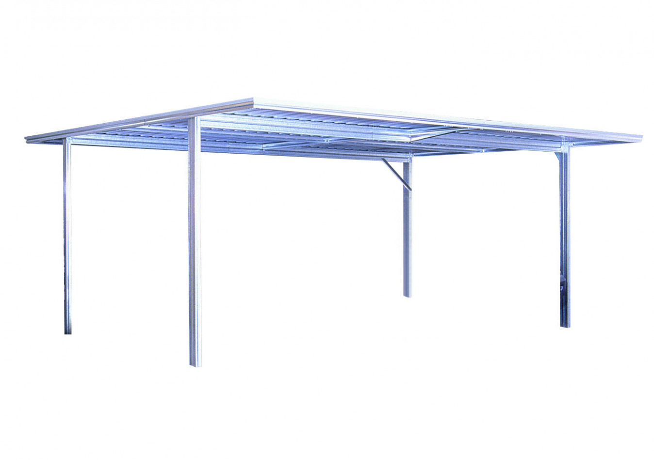 Available Roof Types For Sheds Carports With Flat Roofs