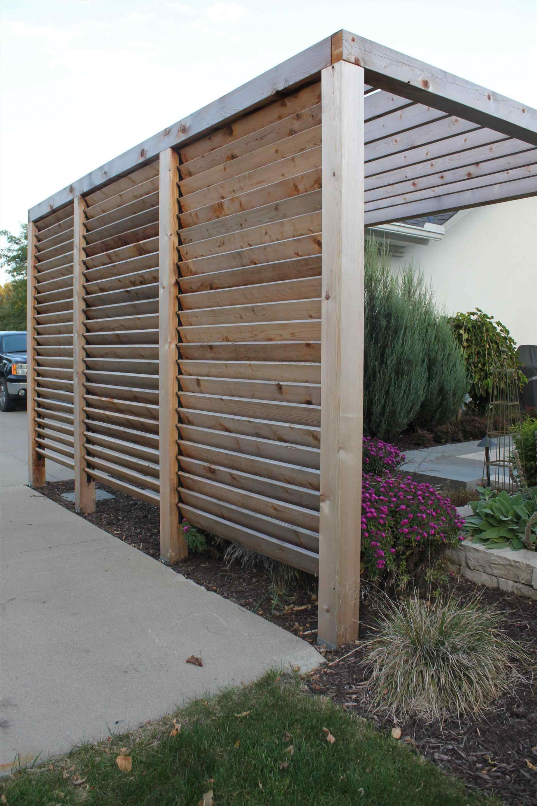 Awesome Carport Privacy Screen Diy Outdoor Privacy Screen ..