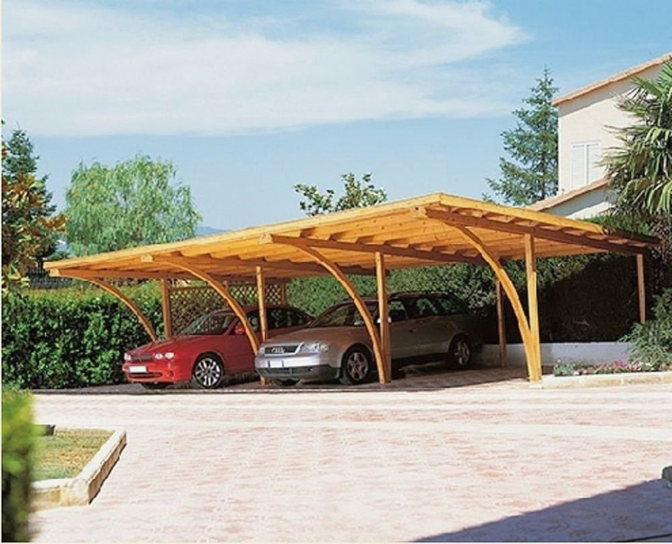 Backyard Garage Designs Best Of Plans To Build Pergola ..