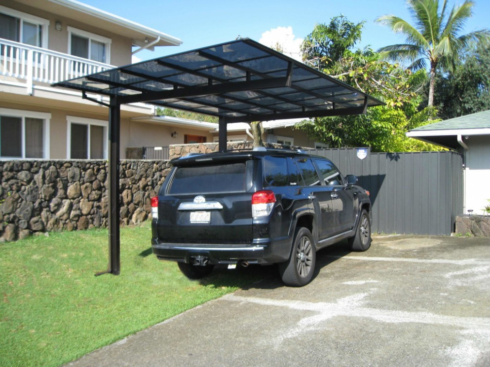 Backyard Ideas Carports Aluminum Metal Carport For Rv Car ..