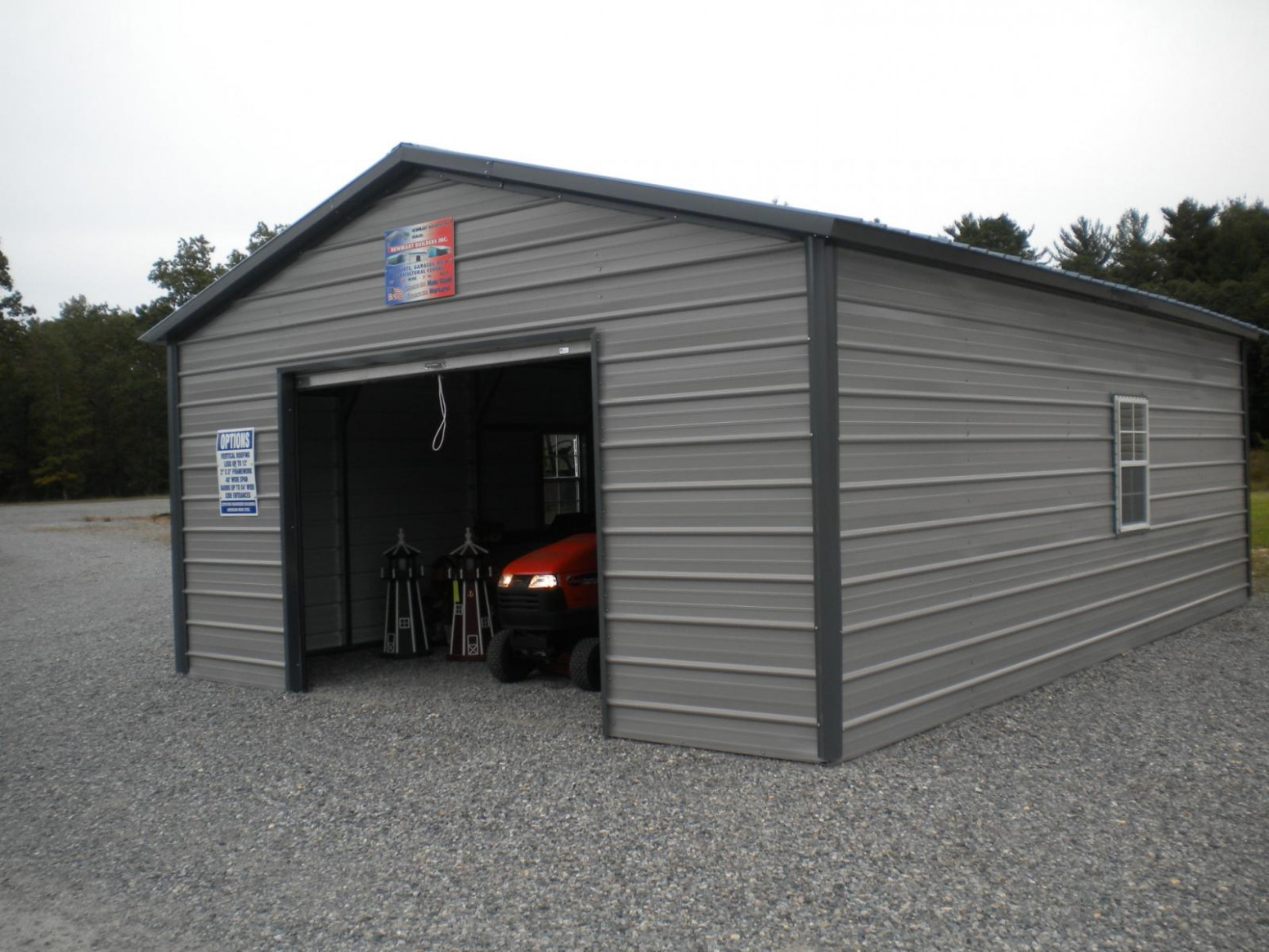 Backyard Ideas Metal Garage Covers Buildings North ..