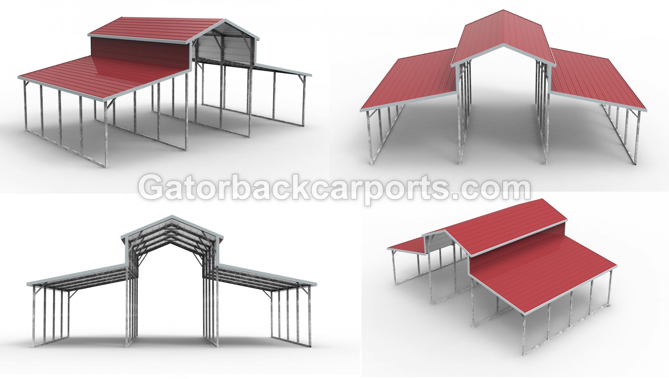 Barn Gallery Gatorback CarPorts | River In 10 | Carport ..