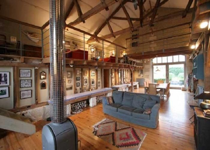 Barn House Decorating Ideas | … Converted Into Cool ..