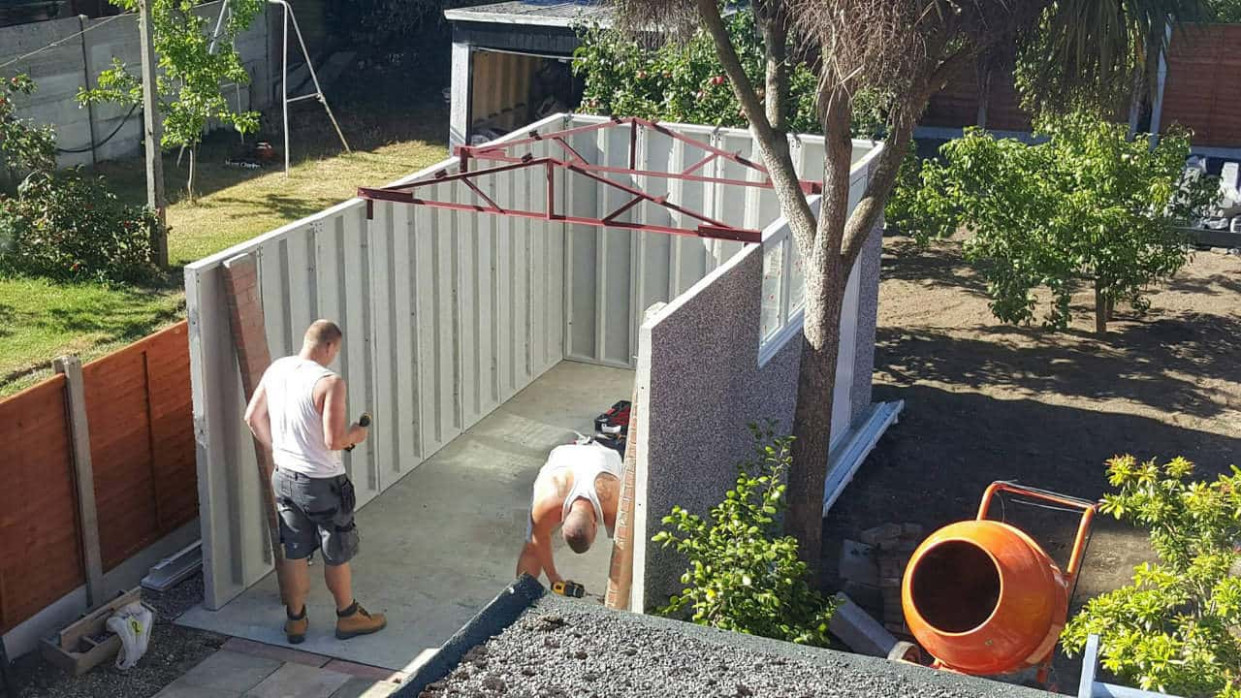 Base Laying Tips For Concrete Garages Nucrete Do I Need Planning Permission For A Wooden Carport