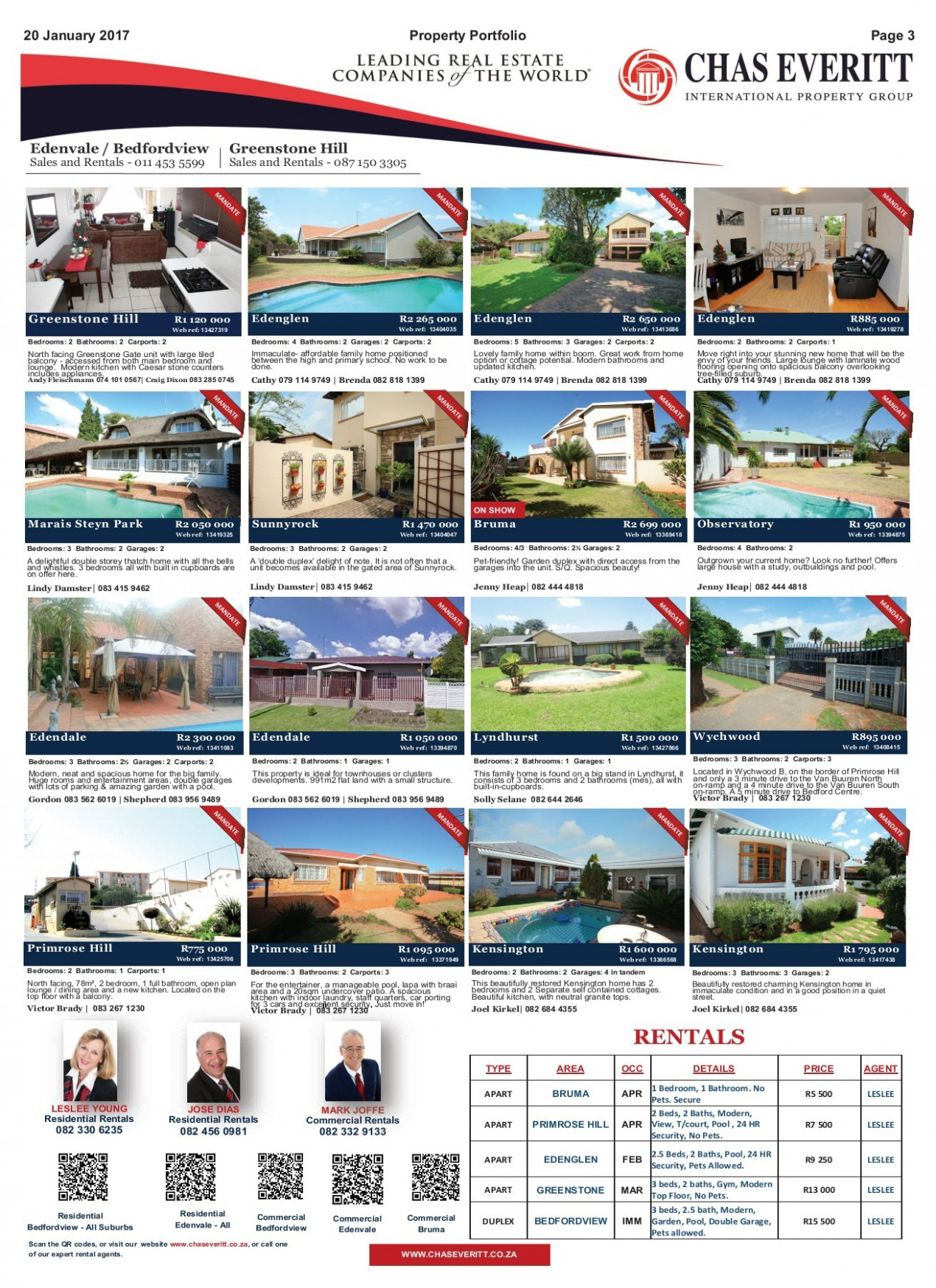 Bedfordview & Edenvale 133 January 133137 Issue 133(13) Pages ..