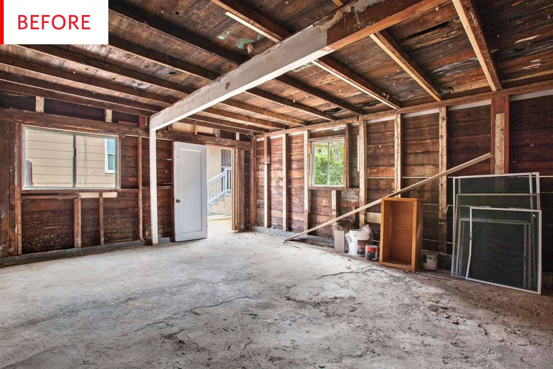 Before & After: Converted Garage To $13K Studio Apartment ..