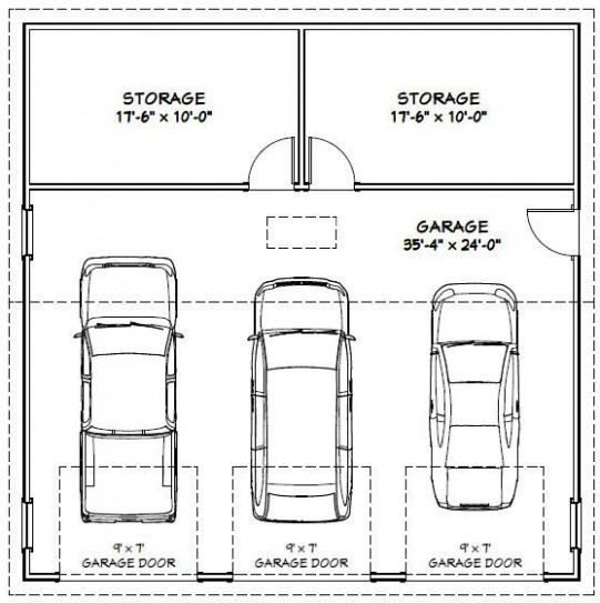 Best 25+ 3 Car Garage Ideas On Pinterest | Carriage House ..