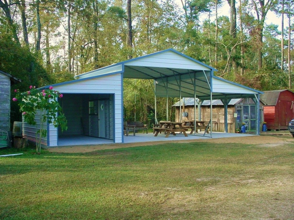 Best Metal Carports And Garages — Ganncellars Portable Metal ..