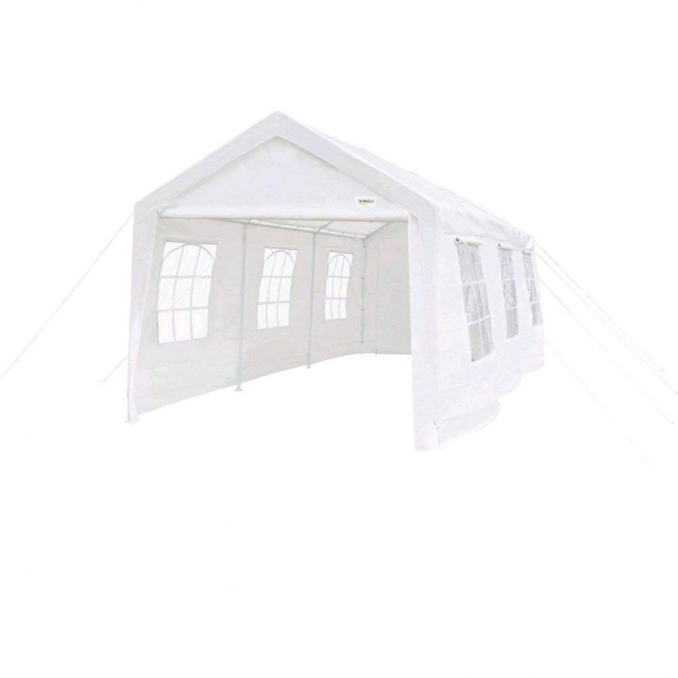 Best Portable Garage For Snow Load: Top Carports For Winter King Canopy Carport Instructions