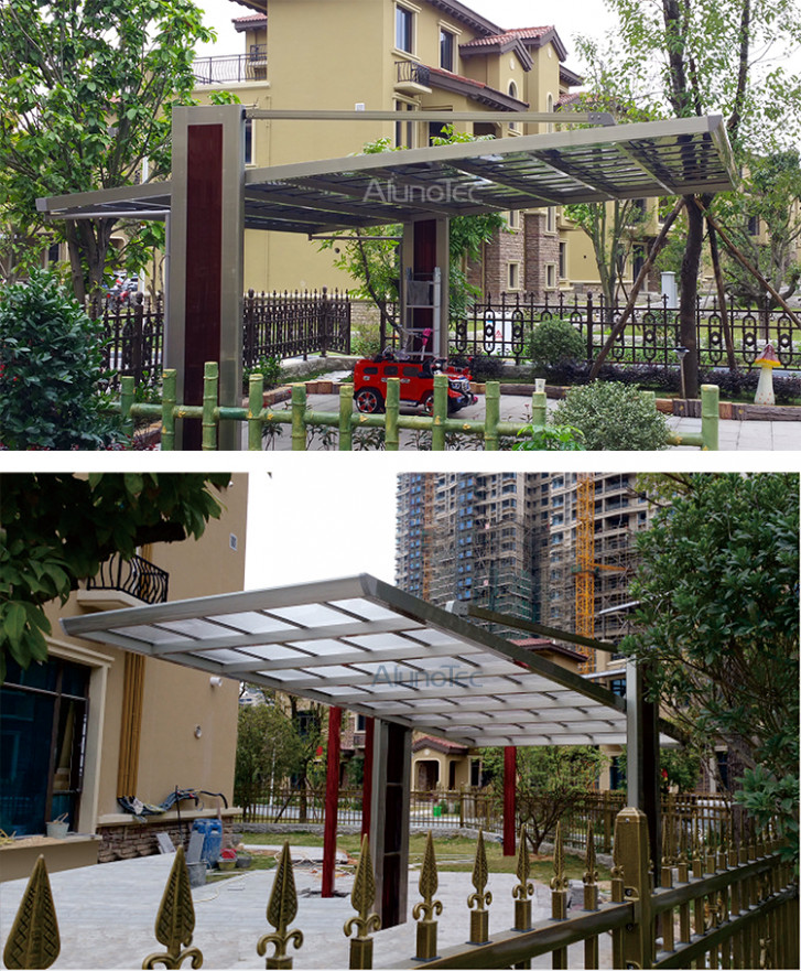 Best Selling Polycarbonate Sheet Solar Carport Prices For ..