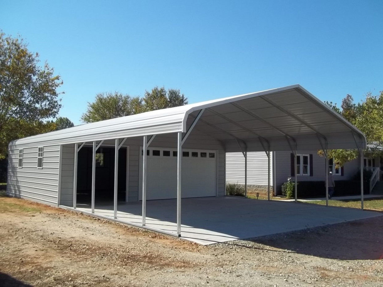 Best Shed With Carport PlansHome Design: Home Design 12 Carport Ideas Attached To Garage