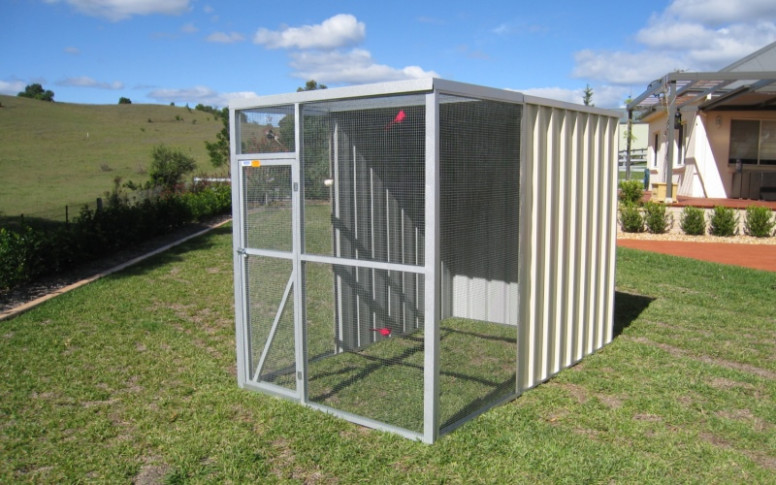 Bird Aviary With Steel Or Wired Flat Roof | Price Starts ..