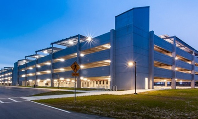 Blue Cross & Blue Shield Campus Haskell Carport Parking Jacksonville Fl