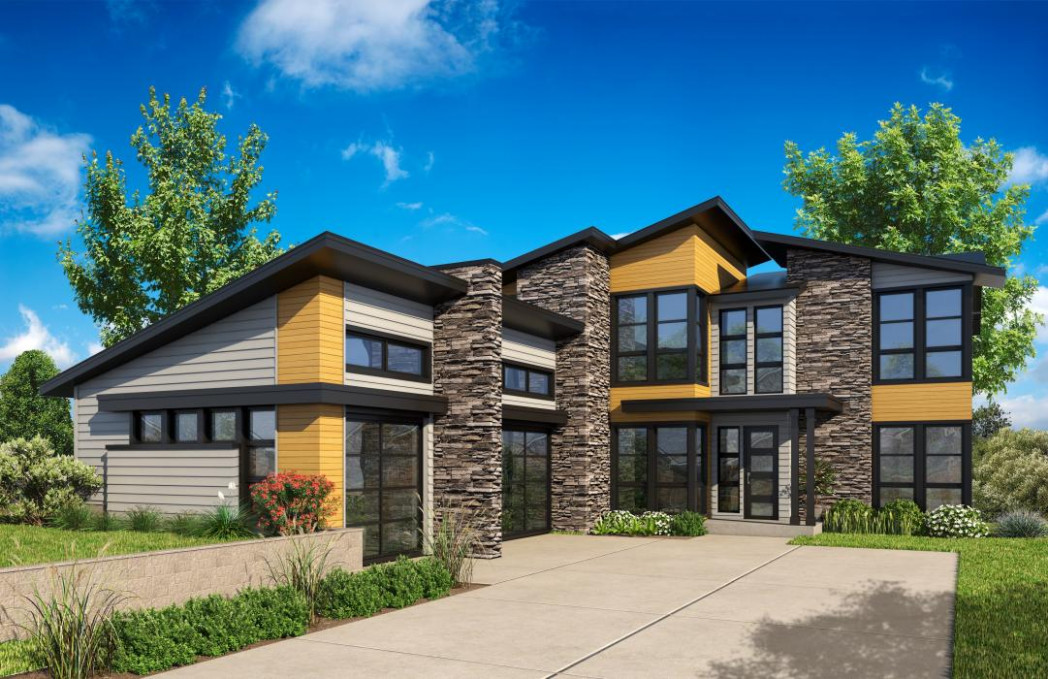Bordeaux | New Homes In Seattle WA | JayMarc Homes Modern Carport And Awning Seattle Wa