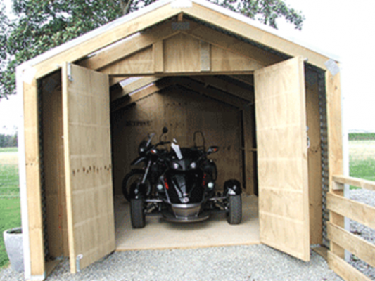 Borderland Relocatable Shed Wooden Carport Kitset