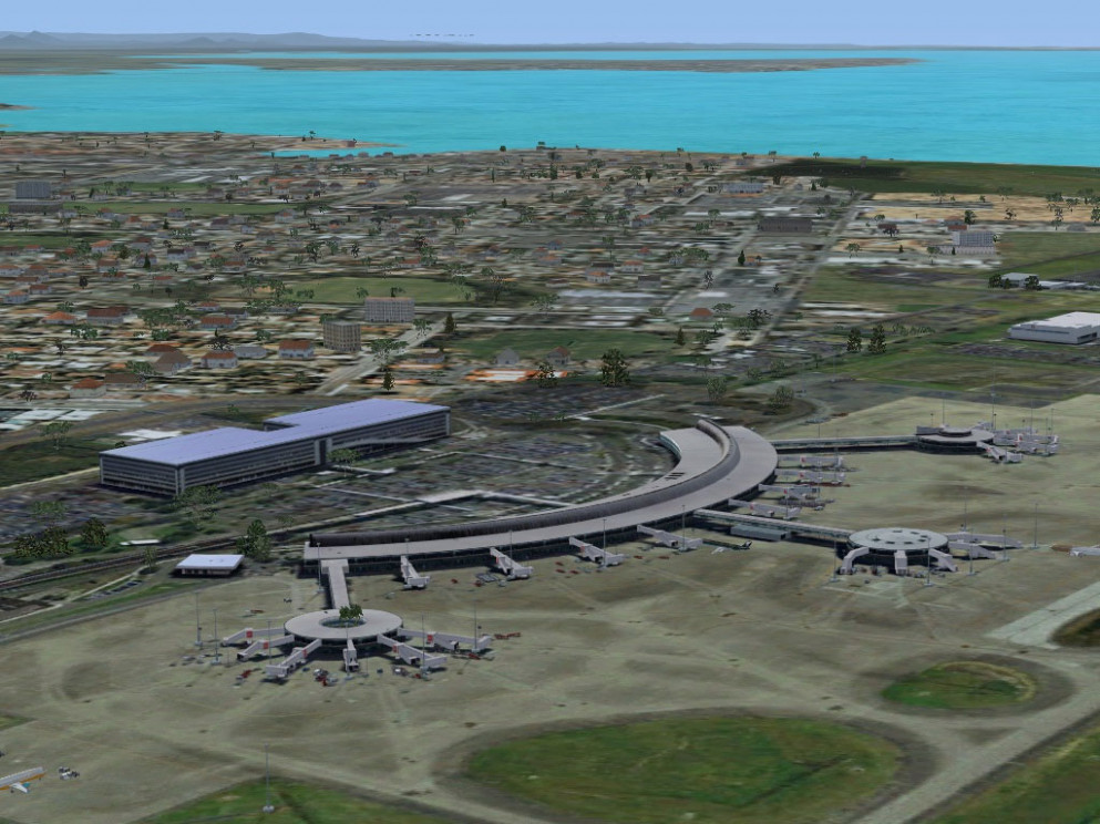 Brisbane International Airport (YBBN) Scenery For FSX Brisbane Airport Parking