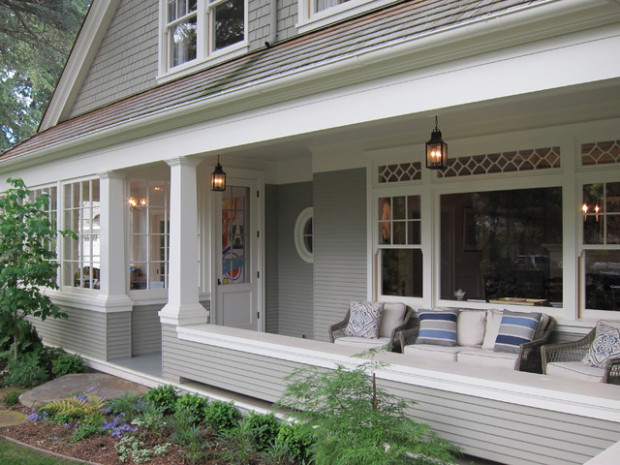 Bryant Street Traditional Traditional Porch San ..