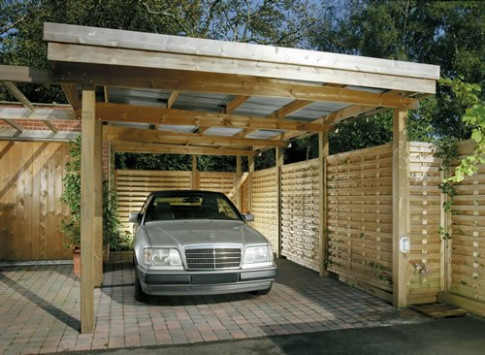Build 2 Car Garage With Carport Plans DIY Floating Corner ..
