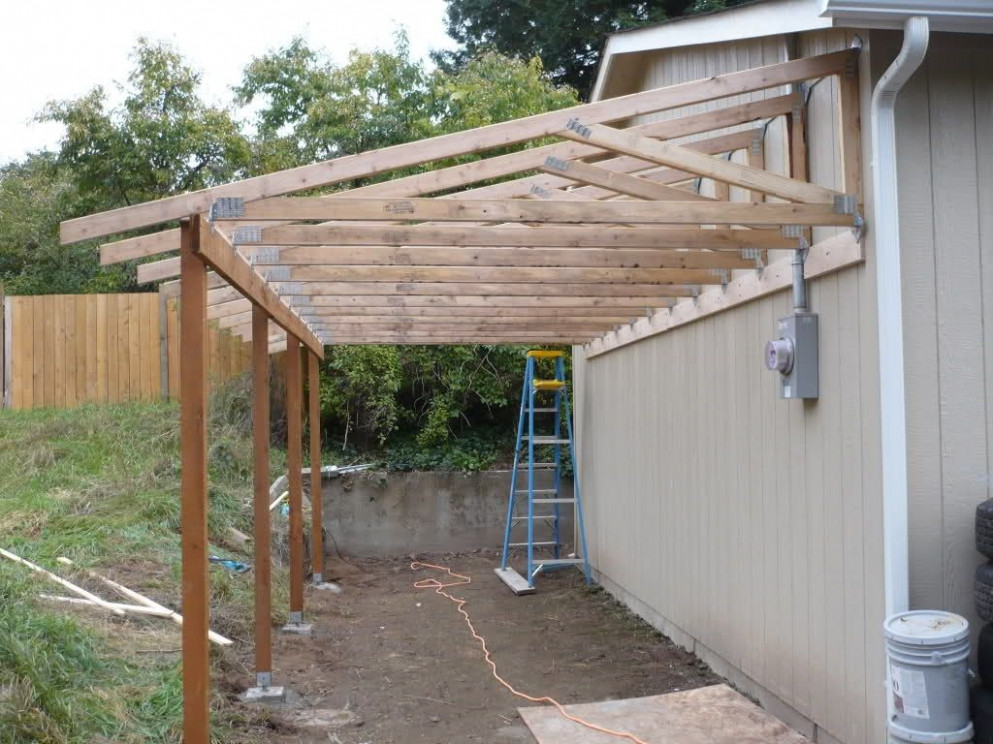 Building A Carport On Side Of House Adding To Garage ..