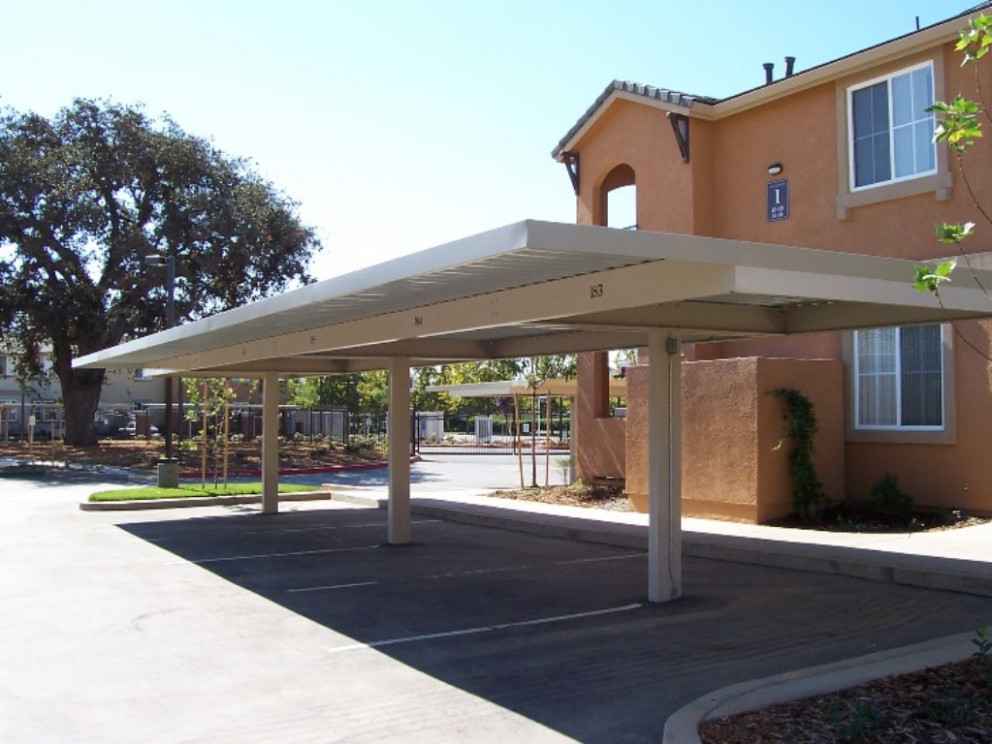 Building A Flat Roof Carport Picture, Rubicon Inc The ..