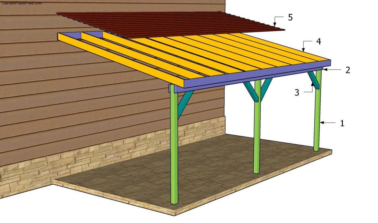 Building An Attached Carport | Carport Plans In 13 | Diy ..