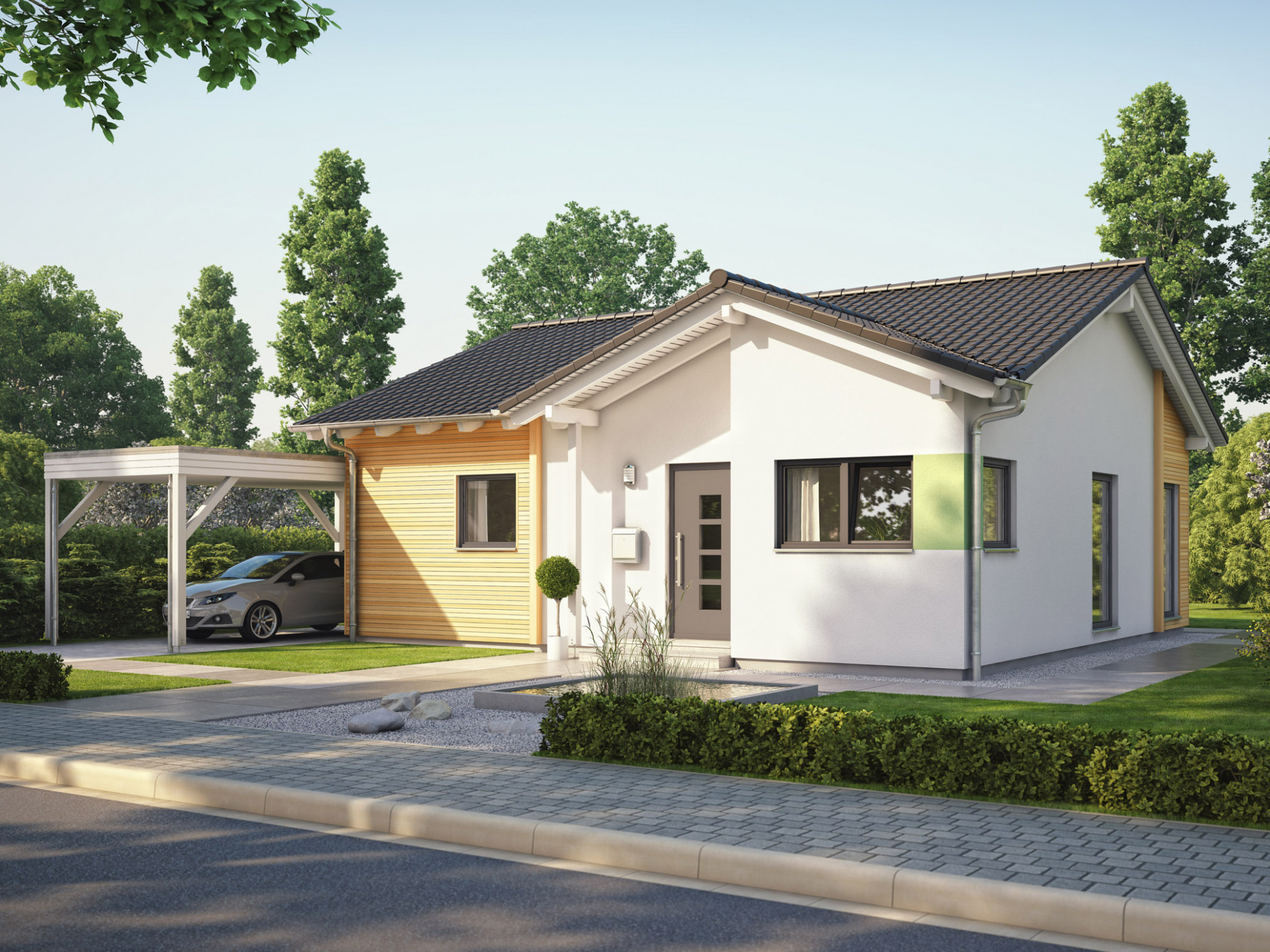 Bungalow House SOLUTION 113 V13 Living Haus | Direct ..