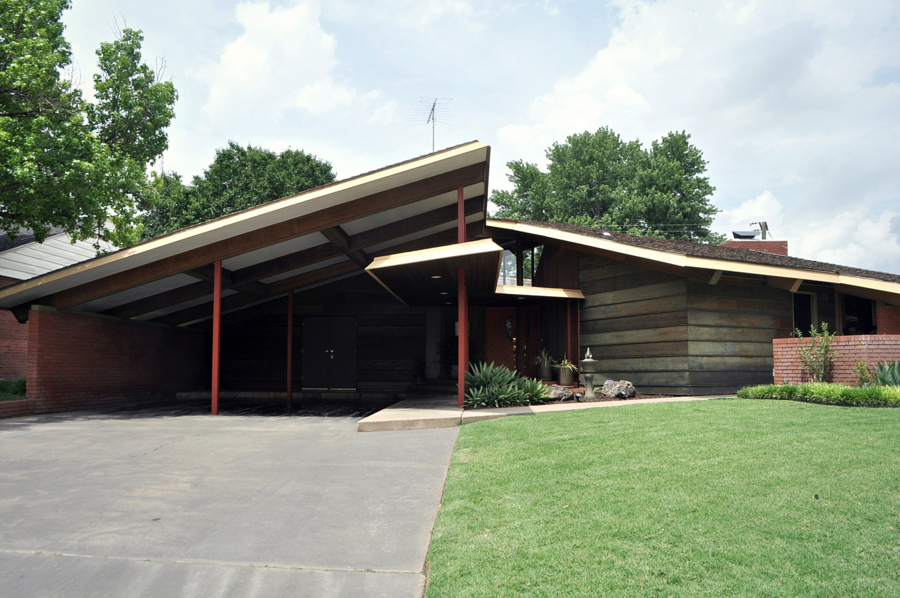 Butterfly Roof Carport | 10+ Images About Garage, Carriage ..