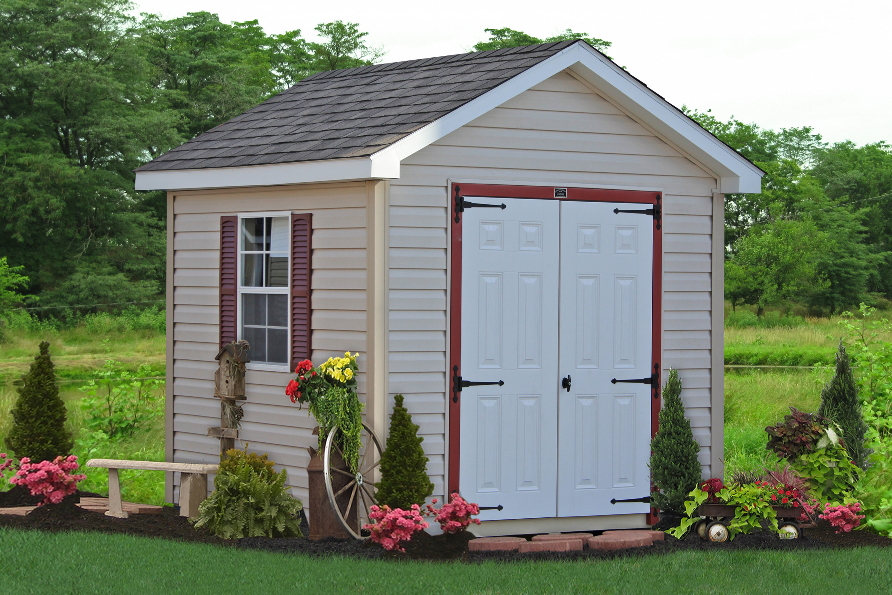 Buy Classic Wooden Storage Sheds In Lancaster, PA Amish Wooden Carports
