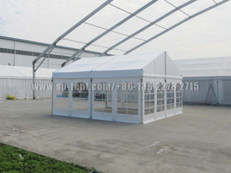 Buy New 6x10m Private Closed Carport Tents With Clear ..
