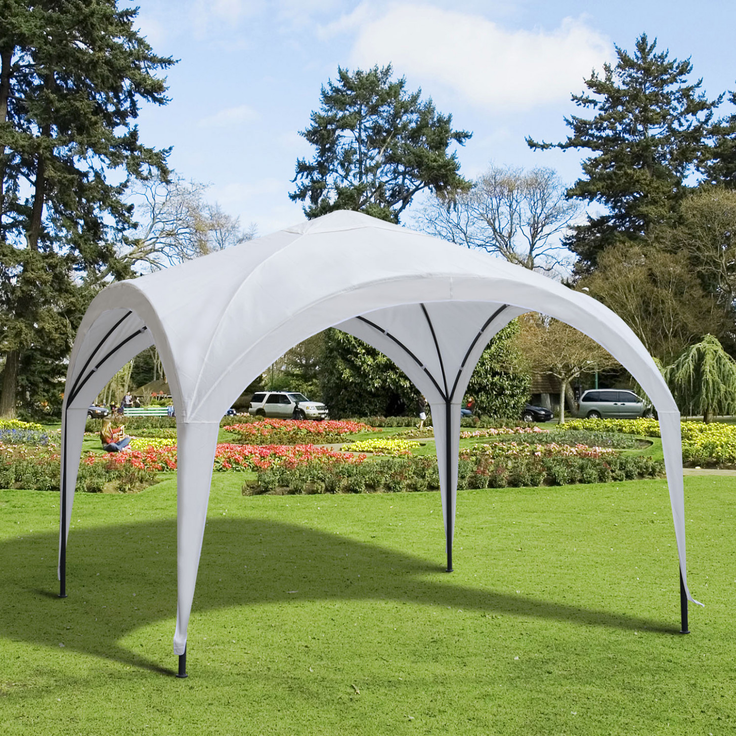 CAD $12.12 Outsunny 12'x12′ Outdoor Canopy Tent Patio ..