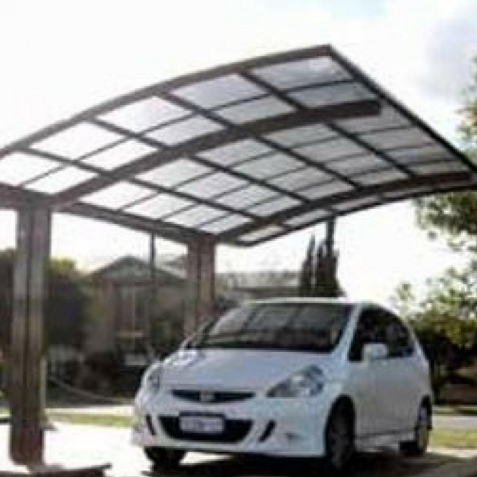 Cantilever Carport Curved Roof – Car Covers And Shelter Arched Roof Carports