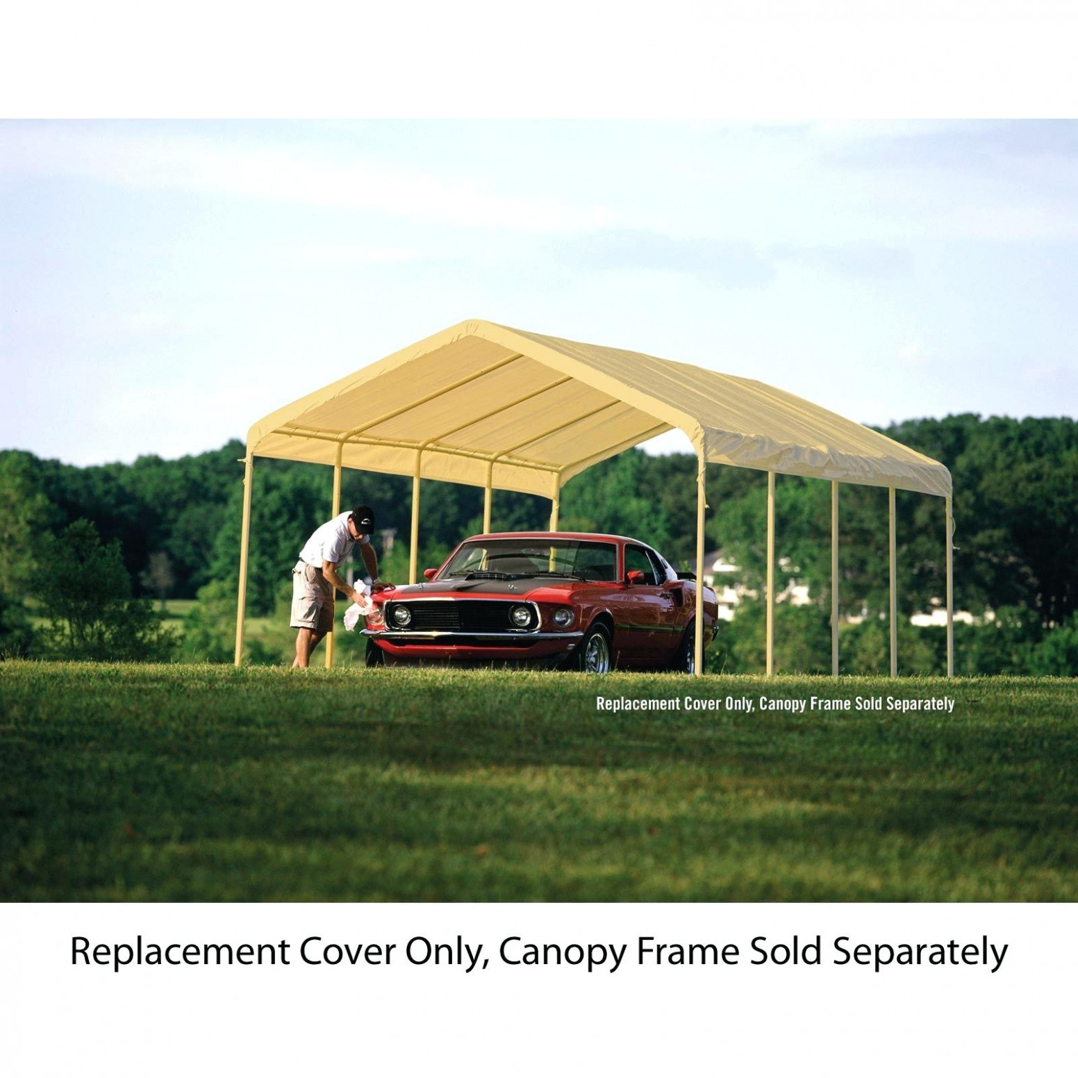 Car Canopy Replacement Cover – Seachal Carport Canopy Parts