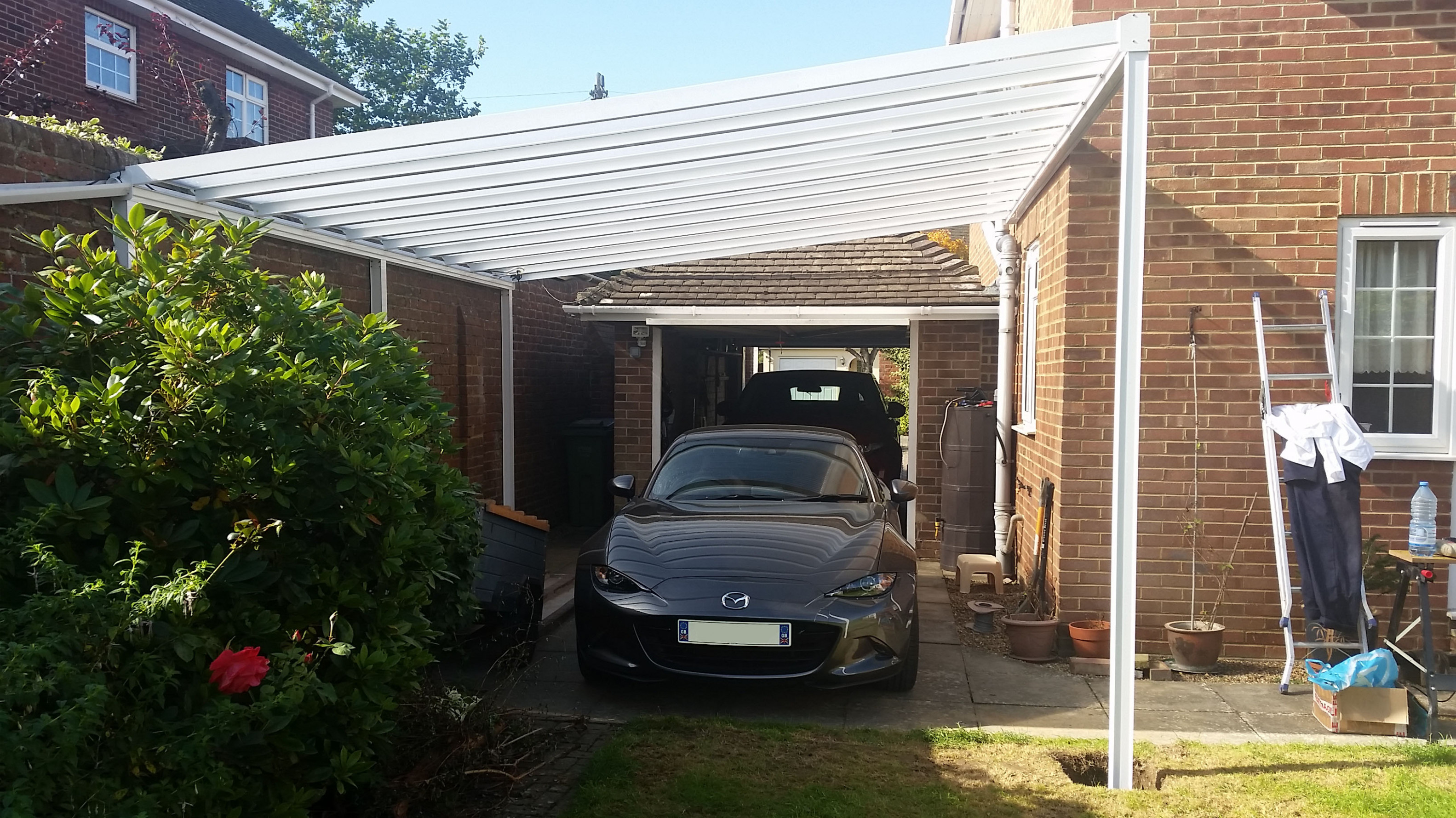 Car Cover | Canopies And Carports By LuMac Canopies Carport Canopy Snow