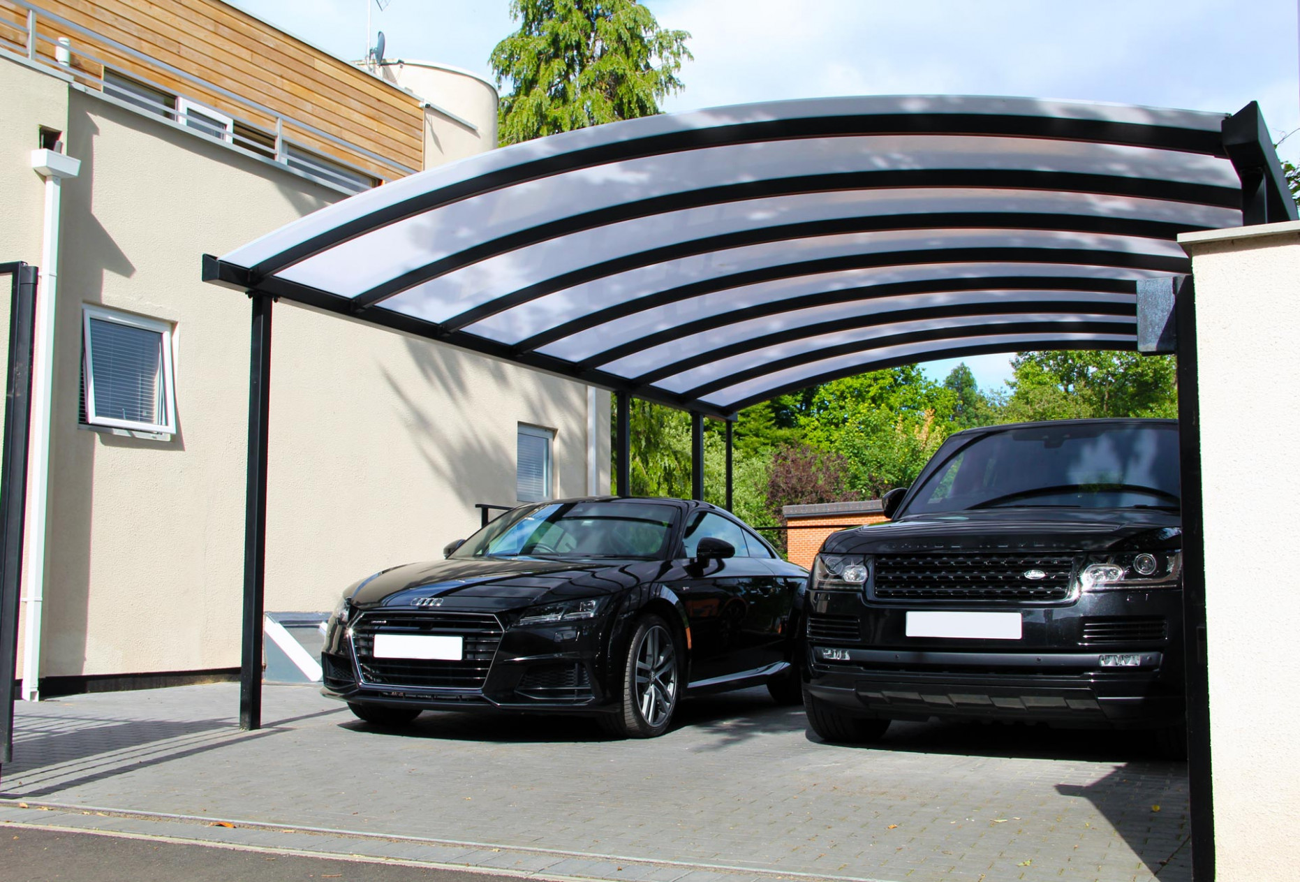 Car Port Canopy For Cars | Kappion Carports & Canopies Carports Contemporary Near Me