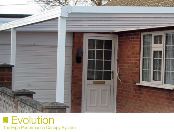 Car Port, Canopy Installation In Newent, Gloucestershire Evolution Carport Canopy
