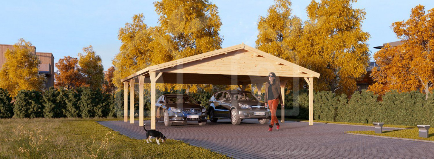 Car Port Wooden 8×8 8×8 UK Free Shipping | Garage And ..