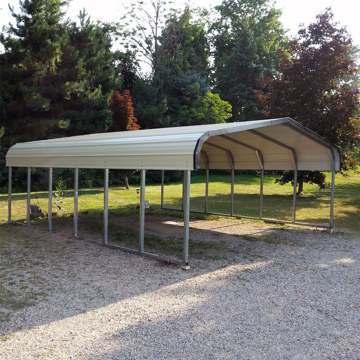 Car Will Be Safe In Metal Carports CareHomeDecor Carport Decorating Videos