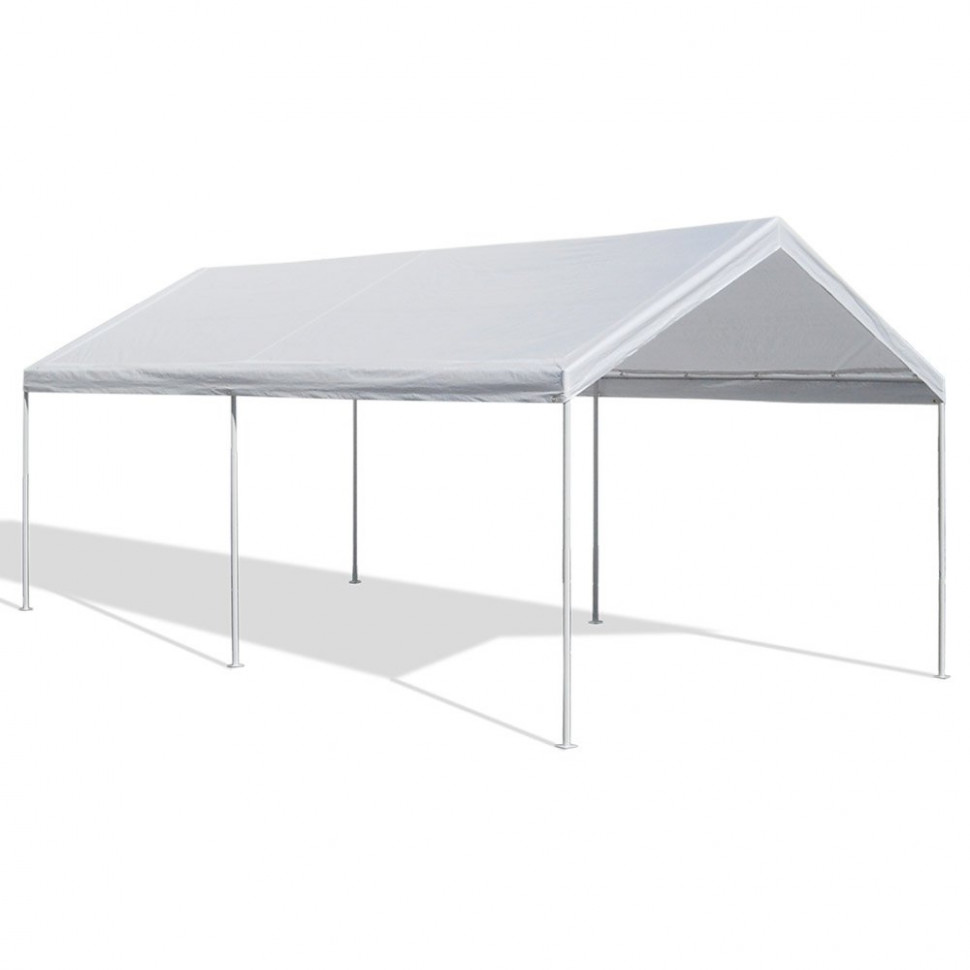Caravan Canopy 9 X 9 Feet Domain Carport, White Camper Carport Ideas