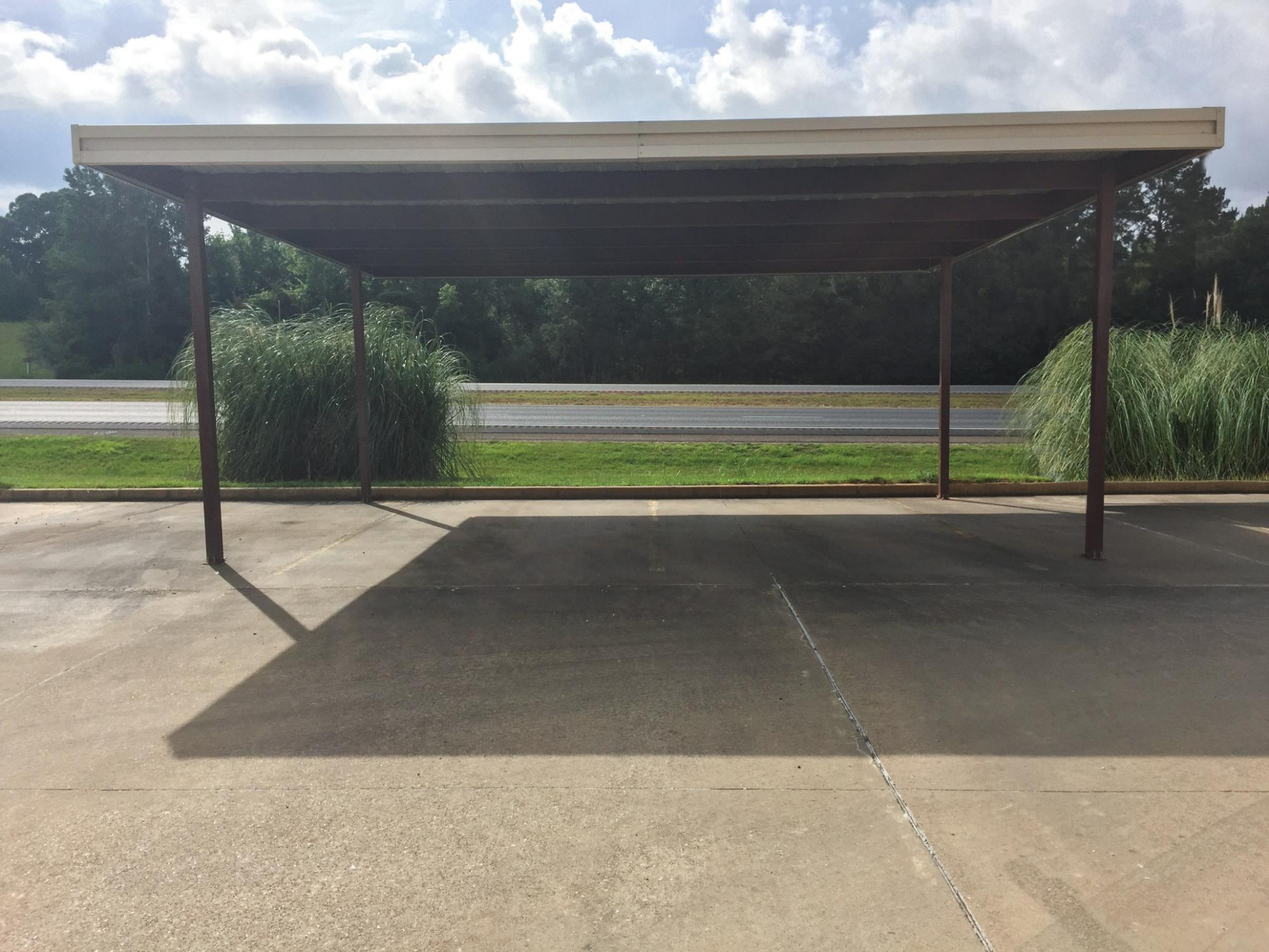 Carport 11′ X 11′ Mueller, Inc Metal Roof Carports For Sale