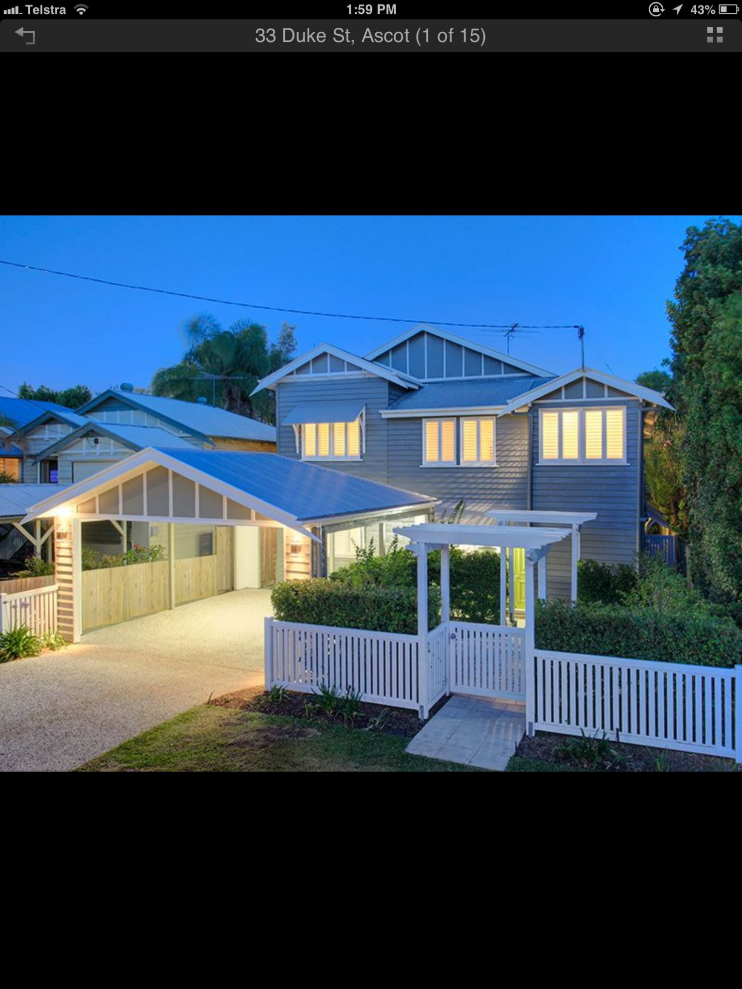 Carport And White Picket Fence | Carport In 11 | House ..