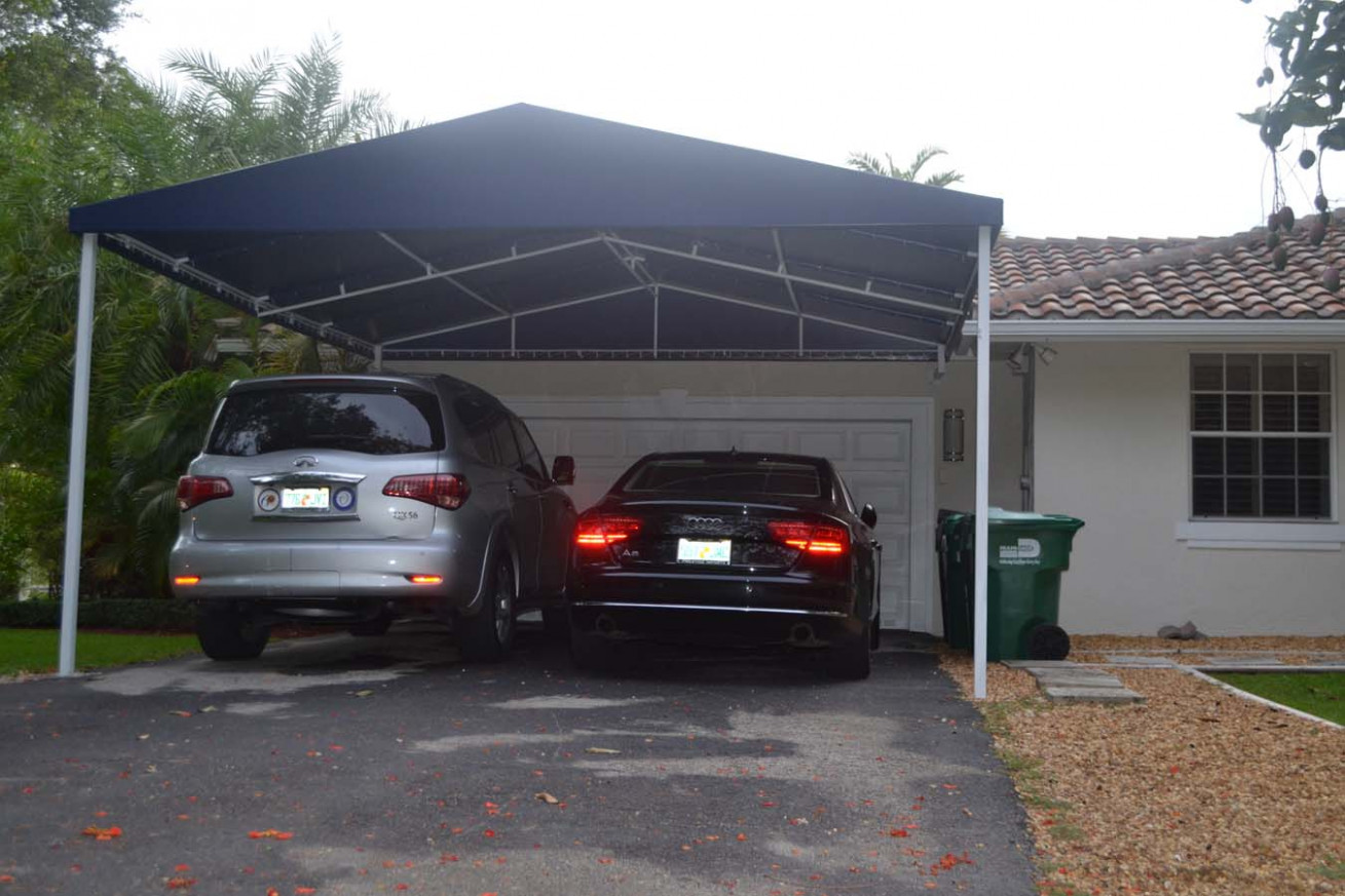 Carport Awnings & Carport Canopies In Miami Carport Canopy Driveway