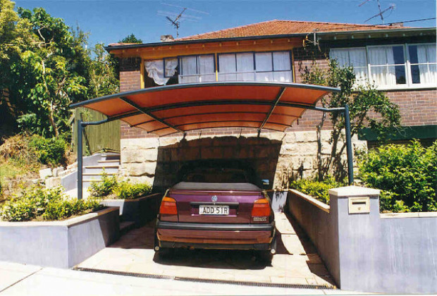 Carport Awnings Contemporary Garage And Shed Sydney ..