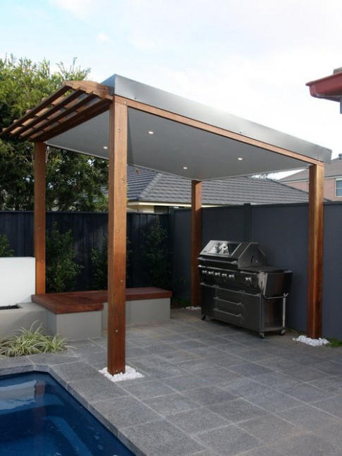 Carport Bbq Area Ideas, Pictures, Remodel And Decor Carport Minimalist Area