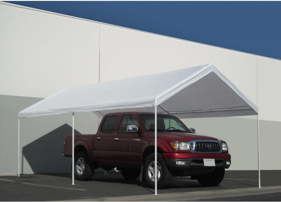 Carport Canopy 10' x 20' Shelter Tent Garage Heavy Duty ...